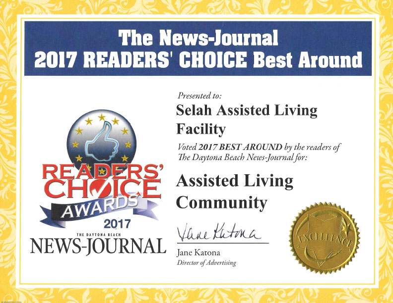 2017 Best Around Assisted Living Community