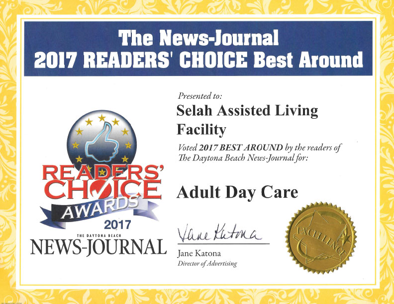 Best Around Adult Day Care 2017