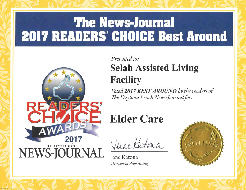 Best Around Elder Care 2017
