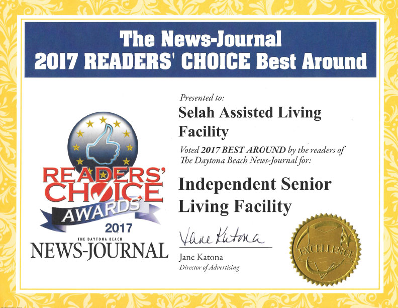 Best Independent Senior Living Facility 2017