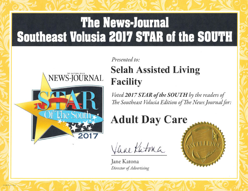 Star of the South Adult Day Care 2017
